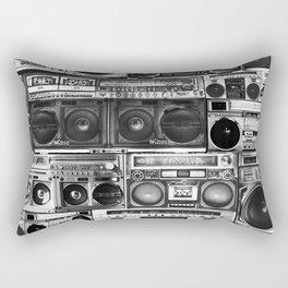 house of boombox Rectangular Pillow