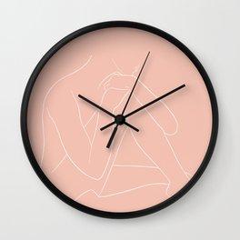 embrasser Wall Clock