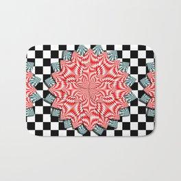 Digital Flower Bath Mat