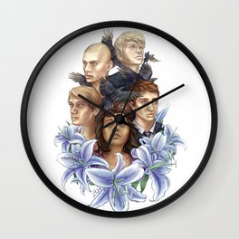 Raven Cycle Wall Clock