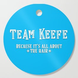 Team Keefe Cutting Board