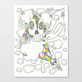 Autistic Daydream Canvas Print