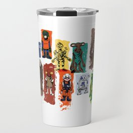 Action Figure Tribute Doodles Travel Mug