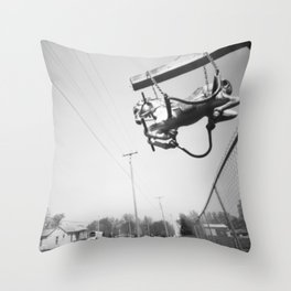 La Belle's Baron's Steed Throw Pillow
