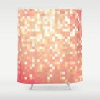 princess peach Shower Curtains featuring Peach by Whimsy Romance & Fun