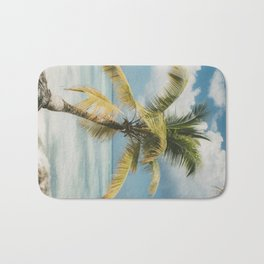 Palm Trees Punta Cana Bath Mat