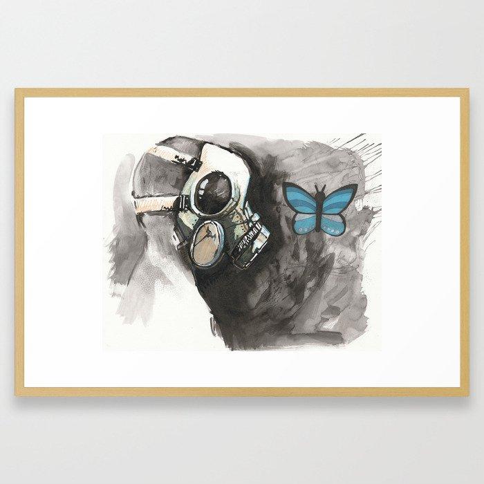 Last Good Day of the Apocalypse Framed Art Print