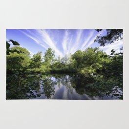 Hatfield Forest Lake England Essex Summer Rug