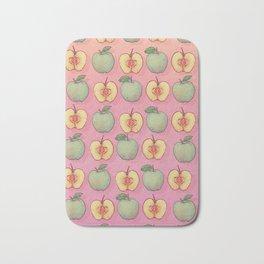 Apples Pattern Bath Mat