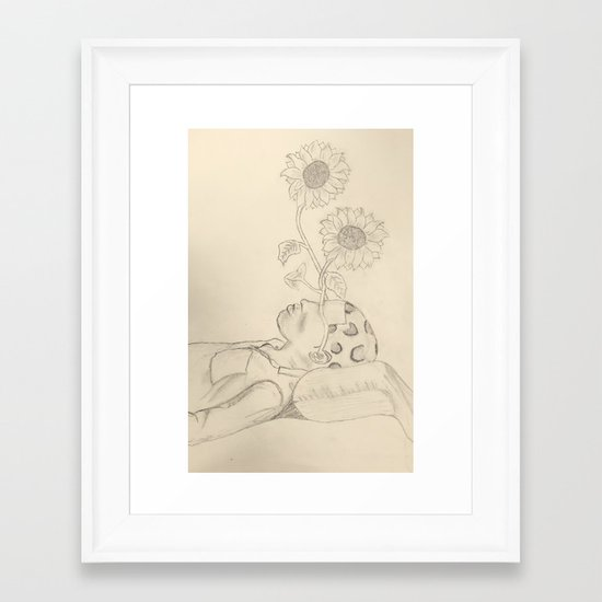 Tyler The Creator - Flower Boy - Drawing Framed Art Print by wolfkla ...