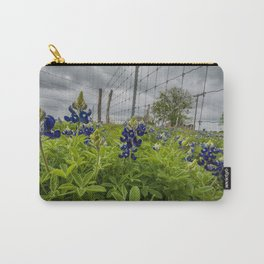 texas bluebonnets II Carry-All Pouch