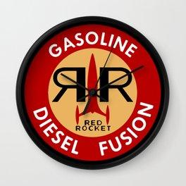 Nuka Cola Red Rocket Gasoline Wall Clock
