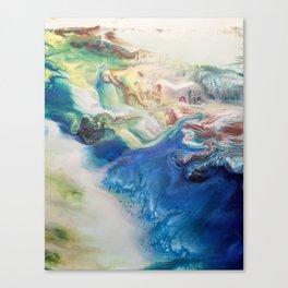Stirring Canvas Print