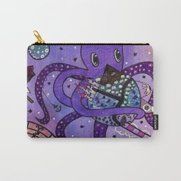 Octopus in Space- Oswald's takeover Carry-All Pouch
