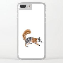 Numbat Myrmecobius fasciatus Clear iPhone Case