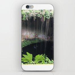 Mexico cenote iPhone Skin