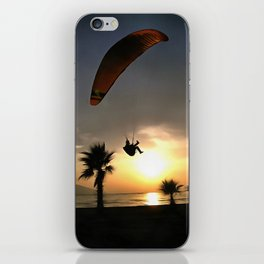 Dropzone At Dusk iPhone Skin