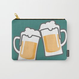 Cheers for peers with beer - Enjoy beer day with your friends Carry-All Pouch