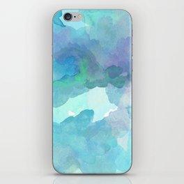 Breathing Under Water (Ocean Clouds) iPhone Skin