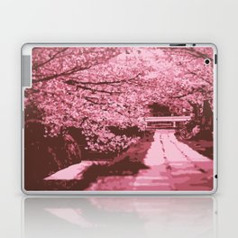 Sakura Monochrome Laptop & iPad Skin