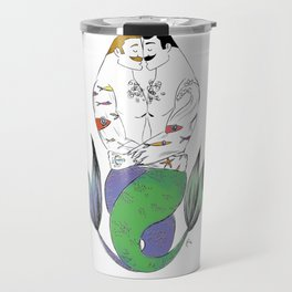 """Merman Hug"" Travel Mug"