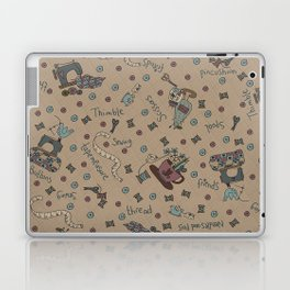 My Sewing Things... Laptop & iPad Skin