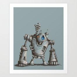 Robot #2 Art Print