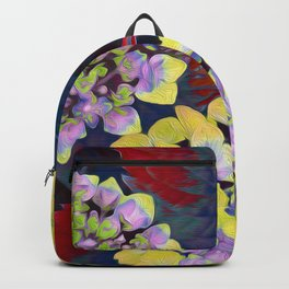 Hydrangea Yellow Backpack