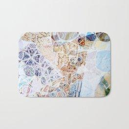 Mosaic of Barcelona IX Bath Mat