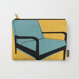 Mid Century Chair Carry-All Pouch