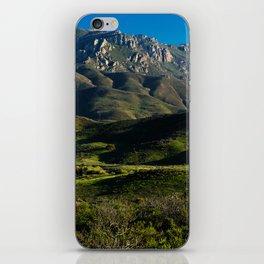 Boney Mountain,CA. iPhone Skin