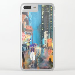 Agrabah, New York Clear iPhone Case