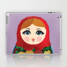 Matryoshka Polygon Art Laptop & iPad Skin
