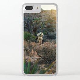 Desert Light Clear iPhone Case