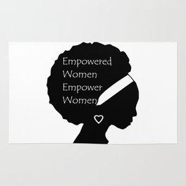 Empowered Women Empower Women - Afro Rug