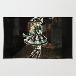 Draco Slytherin Halloween Witch Rug