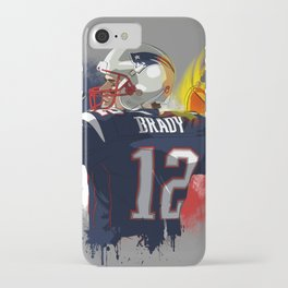 Tom Brady iPhone Case