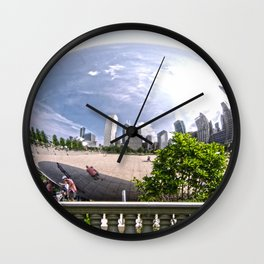 ChicagoBean Wall Clock