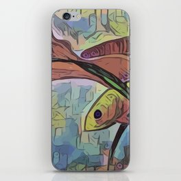 My Beartiful Little Fish iPhone Skin