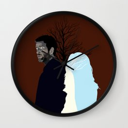 Always By Your Side Wall Clock