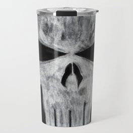 The Punisher skull Travel Mug