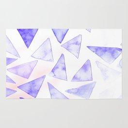 Purple Geometrics Rug