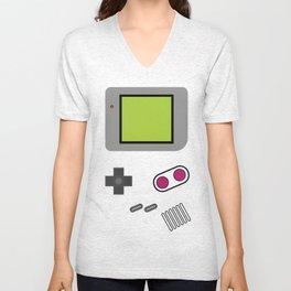 game boy Unisex V-Neck