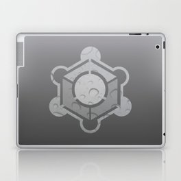 Crop Circle Water Mark Laptop & iPad Skin