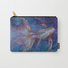 Indigo Goldfish Carry-All Pouch
