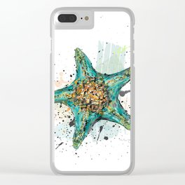 Star Fish Clear iPhone Case