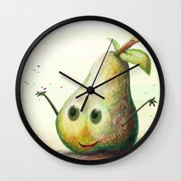 Happy Pear Wall Clock
