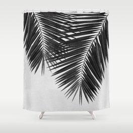 Palm Leaf Black U0026 White II Shower Curtain