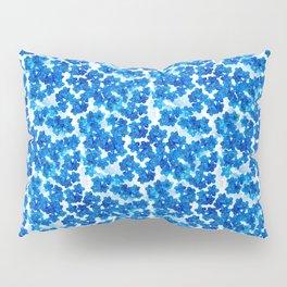 Forget-me-not Flowers White Background #decor #society6 #buyart Pillow Sham