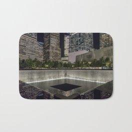 9-11 Memorial New York City Bath Mat